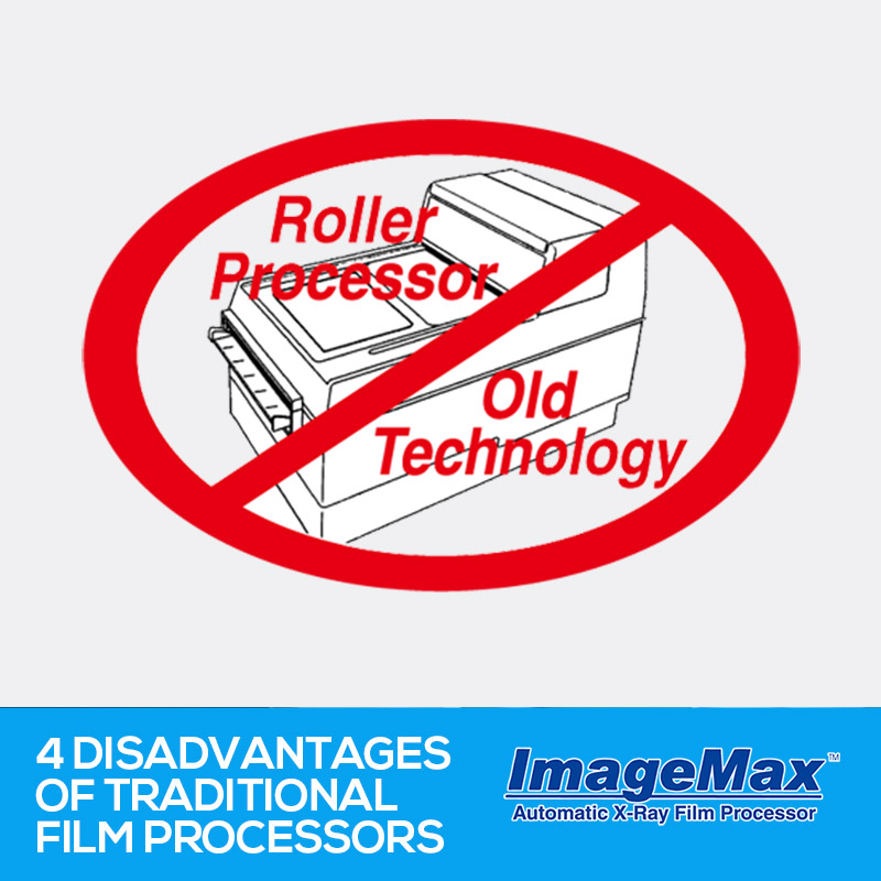 Four disadvantages of traditional film processors