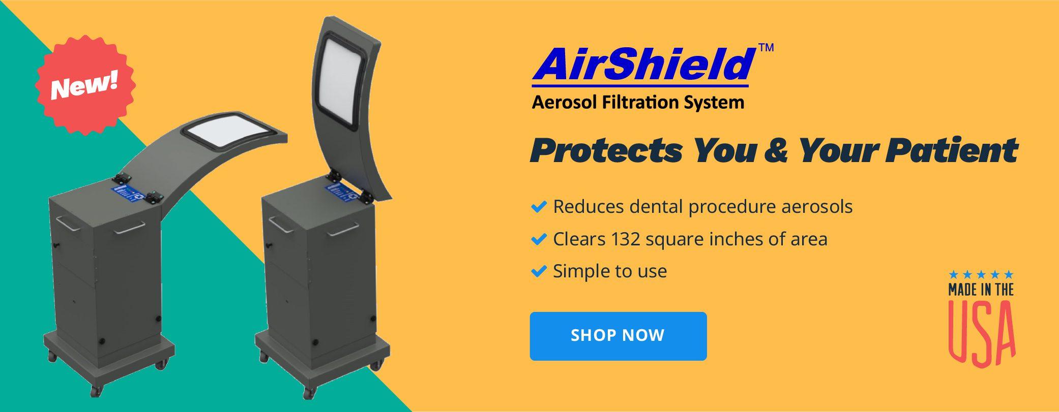 AirShield Aerosol Filtration Systems | Shop Now